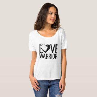 Liebe-Krieger-Slouchy Freund-T - Shirt