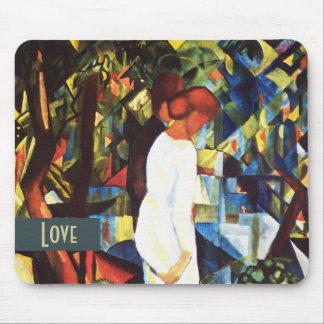 Liebe Kunst-Valentinstag-Geschenk Mousepad