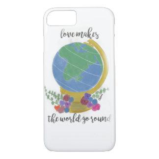 Liebe lässt die Welt sich drehen iPhone 8/7 Hülle