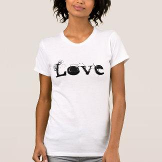 Liebe-Leben in Vintagem weißem Schwarzem und in Hemden