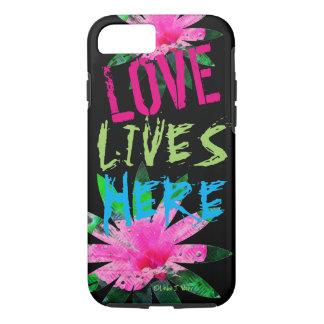 Liebe lebt - Apple iPhone 7, starker iPhone 7 Hülle