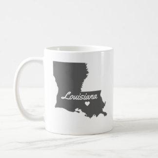 Liebe-Louisiana-Liebe-Baton-Rouge Tasse