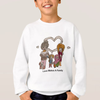 Liebe macht eine Familie durch Ainsley Sweatshirt