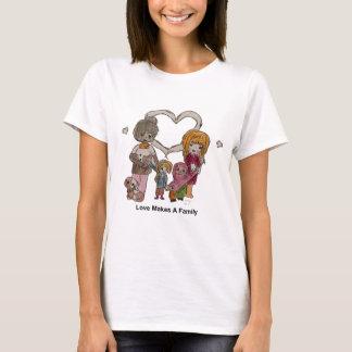 Liebe macht eine Familie durch Ainsley T-Shirt