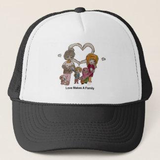 Liebe macht eine Familie durch Ainsley Truckerkappe