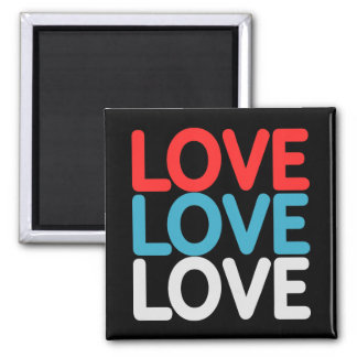 Liebe-Magnet Quadratischer Magnet