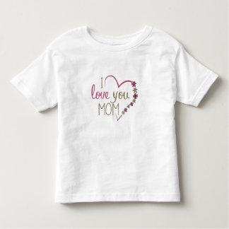 Liebe-Mamma-Mutter-Tagesherz Kleinkind T-shirt