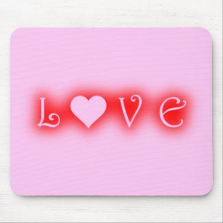 Liebe-Mausunterlage Mousepads