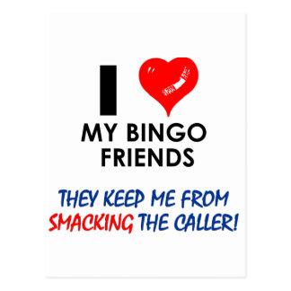 Liebe meine Bingo-Freunde! Postkarten