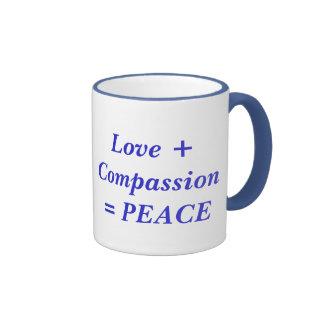 Liebe + Mitleid-… Tasse