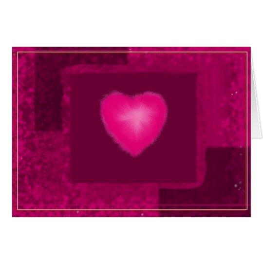 Liebe-Mitteilungskarten Grußkarte