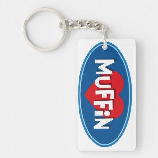 Liebe-Muffin Schlüsselanhänger