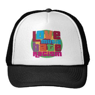 Liebe-Musik-Hass-Rassismus Retrokult Cap
