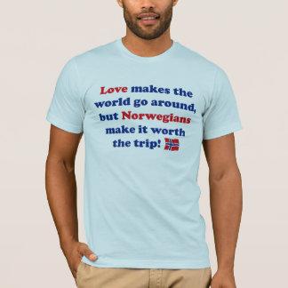 Liebe-Norweger T-Shirt