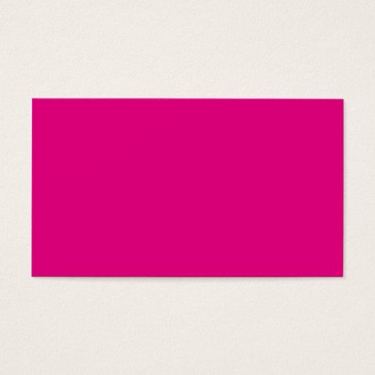 Liebe P22 die Magenta! Rosa Farbe Visitenkarte