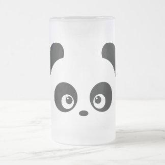 Liebe Panda® mattierte GlasTasse Mattglas Bierglas