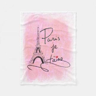 Liebe Paris I zacken Sie PXLY aus Fleecedecke