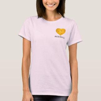 Liebe Pickleball Herz-T - Shirt