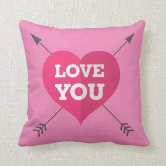Liebe Pillow Sie 16x16 Kissen