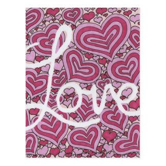 Liebe Postkarte