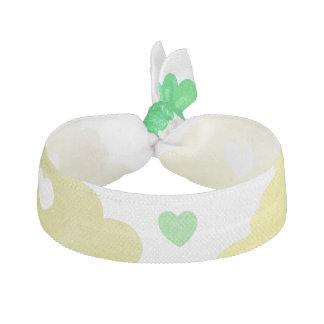Liebe regnet Grüntöne - kundenspezifische Farbe Haarschleife
