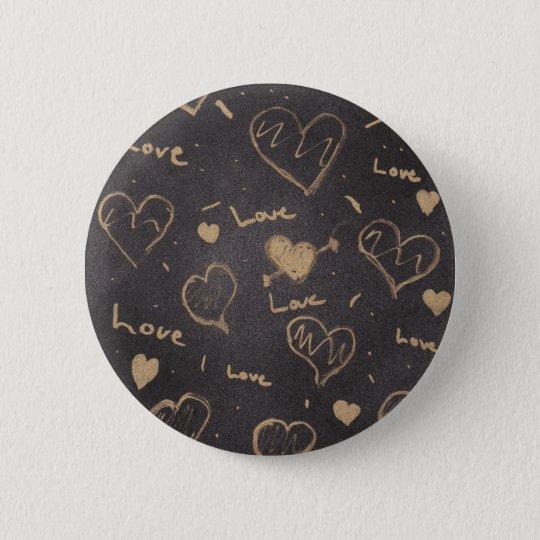 Liebe-Reihepin-/Flair Runder Button 5,1 Cm
