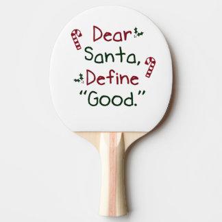 Liebe Sankt definieren gutes Tischtennis Schläger