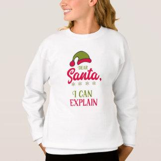 Liebe Sankt, kann ich erklären Sweatshirt