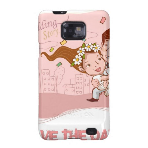 Liebe - Save the Date Galaxy S2 Cover