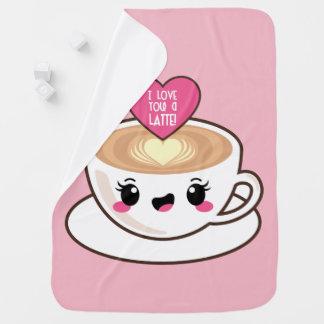 Liebe Sie eine Latte Baby-Decke Kinderwagendecke