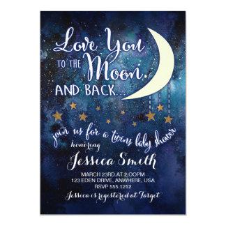 Liebe Sie zur Mond-u. Karte