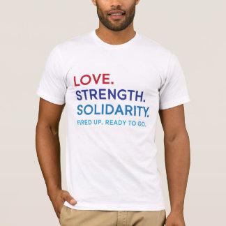 Liebe, Stärke, solidaritäts-UnisexT - Shirt