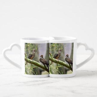 Liebe-Tauben-Kaffee-Tassen-Set Liebestassen