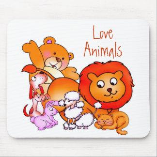 Liebe-Tiere Mousepad