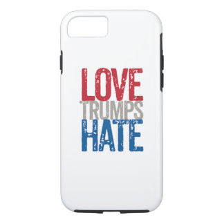Liebe-Trumpf-Hass iphone 6/6s iPhone 8/7 Hülle