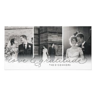 Liebe-u. Dankbarkeits-Hochzeit danken Ihnen Karte