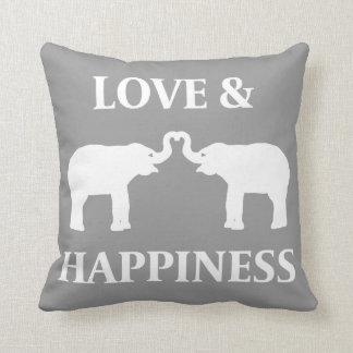 Liebe-u. Glück-Elefant-Kissen Kissen