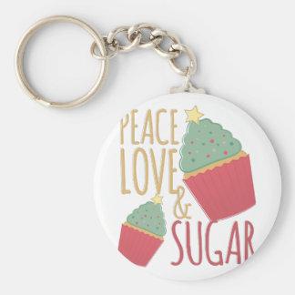 Liebe u. Zucker Schlüsselanhänger
