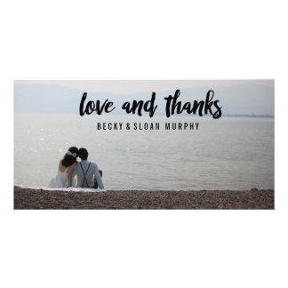 Liebe-und Dank-Foto-Karten \ HOCHZEITEN Bilder Karten