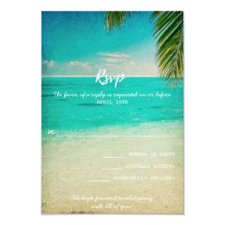 Liebe und die Strand-Hochzeit UAWG Karte 8,9 X 12,7 Cm Einladungskarte