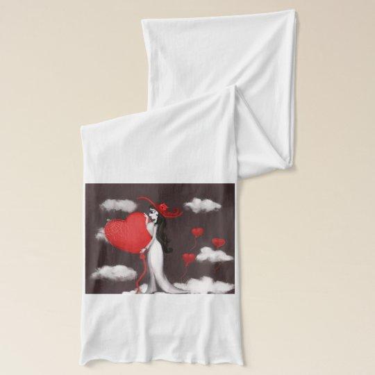 Liebe und valenitne american apparel transparenter schal