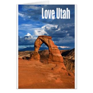 Liebe Utah Karte