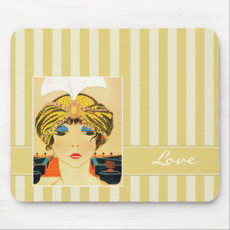 Liebe. Valentinstag-Geschenk Mousepad