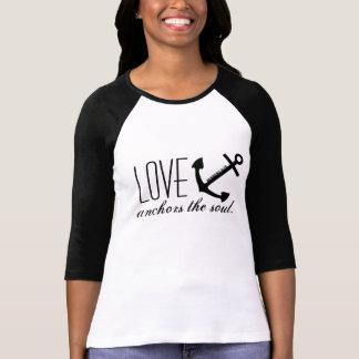 Liebe verankert das Soul T-Shirt