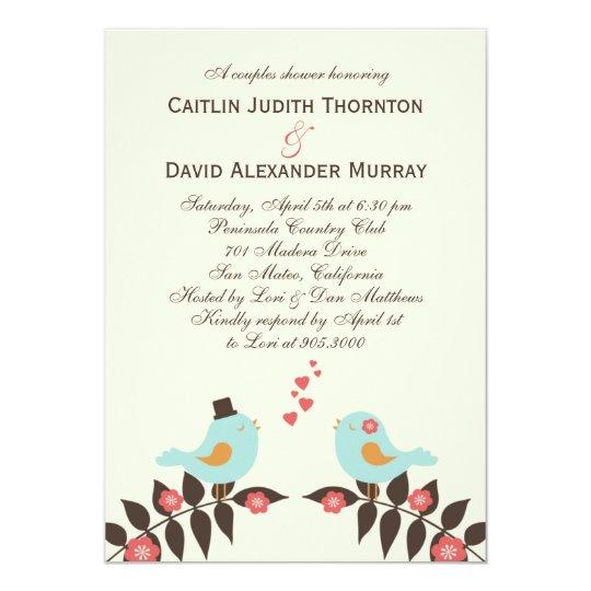 Liebe Vogel Polterabend Einladung Einladung