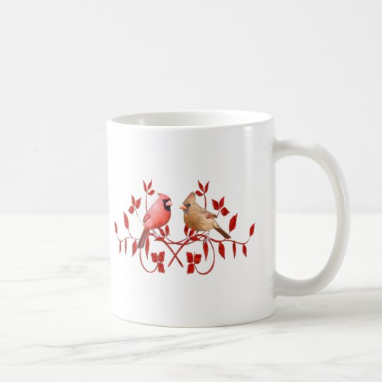 Liebe-Vögel Tasse