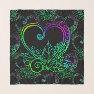 Liebe wächst vibrierendes Muster Schal