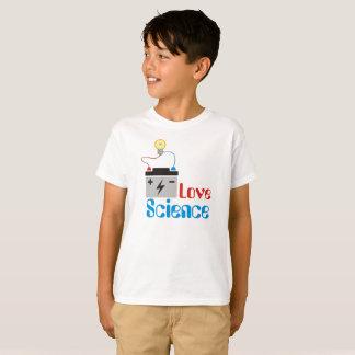 Liebe-Wissenschafts-Kinder T-Shirt