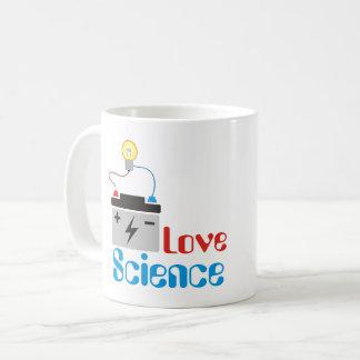 Liebe-Wissenschafts-Tasse Kaffeetasse