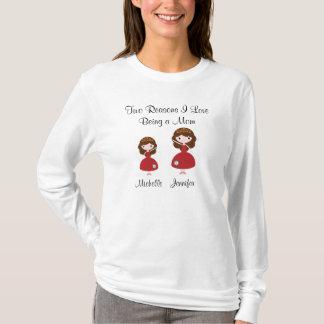 Liebe zwei Gründe I, die eine Mamma ist T-Shirt